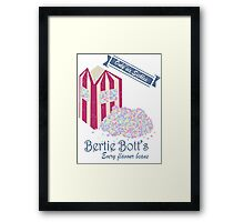 Vintage Bertie Bott's Every flavour beans Framed Print