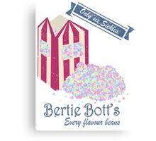 Vintage Bertie Bott's Every flavour beans Canvas Print