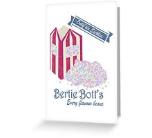 Vintage Bertie Bott's Every flavour beans Greeting Card