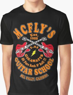 McFly's Guitar School Colour Graphic T-Shirt