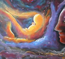 Universe Born-women As Creator by Nandika-Dutt