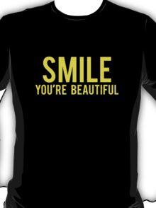 Smile You're Beautiful T-Shirt