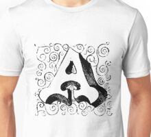 Block Alphabet Letter A Unisex T-Shirt