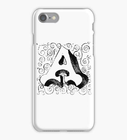 Block Alphabet Letter A iPhone Case/Skin