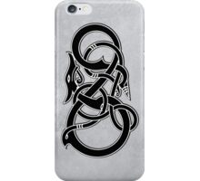 Viking Dragon in black iPhone Case/Skin