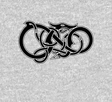 Viking Dragon in black Unisex T-Shirt