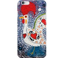 Portuguese Rooster 4 iPhone Case/Skin