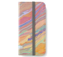Digital Painting (Rainbow Marble Effect/Mixed Paint) iPhone Wallet/Case/Skin