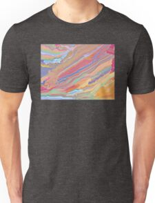 Digital Painting (Rainbow Marble Effect/Mixed Paint) T-Shirt