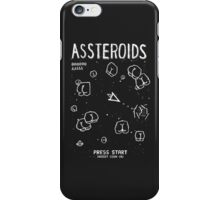 Assteroids - Retro Gaming Parody iPhone Case/Skin