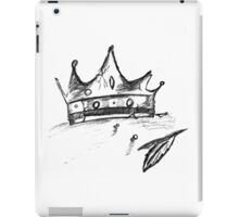 Broken Crown Sketch iPad Case/Skin
