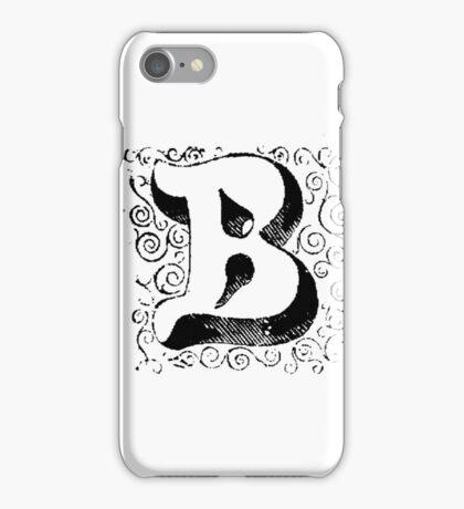 Block Alphabet Letter B iPhone Case/Skin