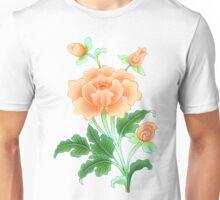 Buddhist Lotus Flower Painting Unisex T-Shirt