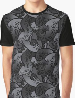 tentacle pattern 3 Graphic T-Shirt