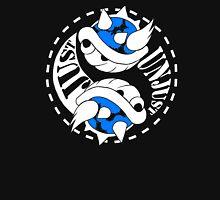 Just/Unjust Blue Shell Unisex T-Shirt