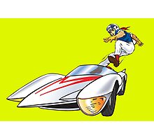 speedracer jump Photographic Print