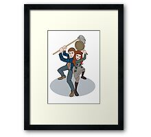 Night Terrors a la Tangled Framed Print
