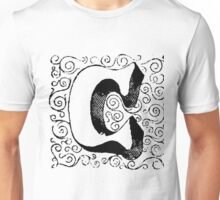 Block Alphabet Letter C Unisex T-Shirt