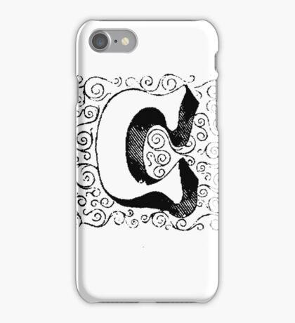 Block Alphabet Letter C iPhone Case/Skin