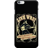 Link Wray (Supersonic Switchblade) Vintage iPhone Case/Skin