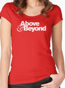 ABOVE AND BEYOND English progressive trance group Women's Fitted Scoop T-Shirt