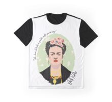 Frida Kahlo Green Graphic T-Shirt