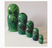 Cthulhu matryoshka doll Russian nesting dolls One Piece - Long Sleeve