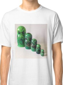 Cthulhu matryoshka doll Russian nesting dolls Classic T-Shirt
