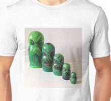 Cthulhu matryoshka doll Russian nesting dolls Unisex T-Shirt