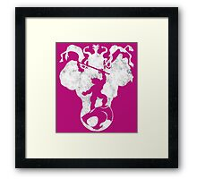 Mortal Enemies  Framed Print