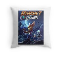 Ratchet & Clank Video Game 2016 Throw Pillow