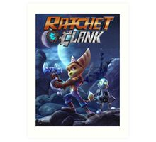 Ratchet & Clank Video Game 2016 Art Print