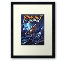 Ratchet & Clank Video Game 2016 Framed Print