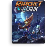 Ratchet & Clank Video Game 2016 Canvas Print