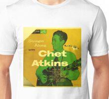 "CHET ATKINS, STRINGIN' ALONG,1953 10"" lp COVER, GUITAR ROCKABILLY  Unisex T-Shirt"