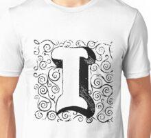 Block Alphabet Letter I Unisex T-Shirt