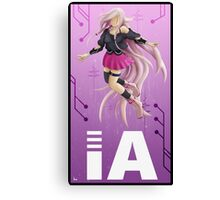 IA - anime character  Canvas Print