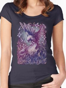 Romance Wolf Women's Fitted Scoop T-Shirt
