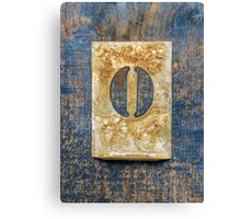 Letter O Canvas Print