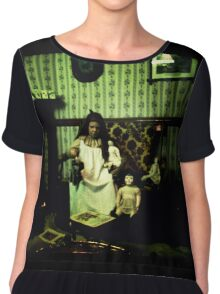 This is a Story of Fear and Anxiety Chiffon Top