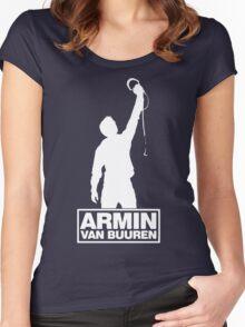 Armin van Buuren Funny Women's Fitted Scoop T-Shirt