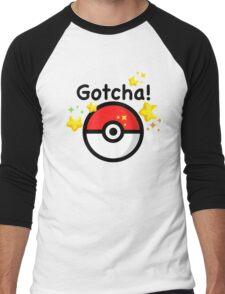Pokemon go - Gotcha - pokeball Men's Baseball ¾ T-Shirt