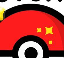 Pokemon go - Gotcha - pokeball Sticker