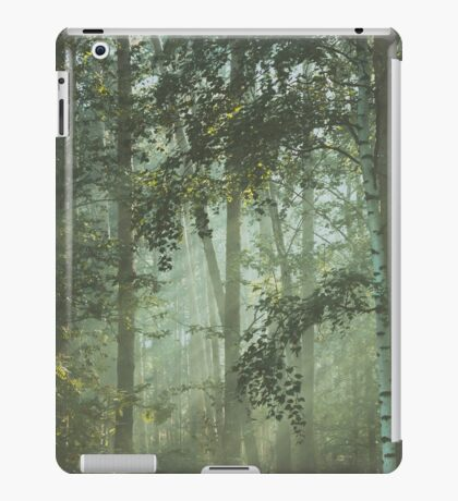 Mystery magical forest iPad Case/Skin