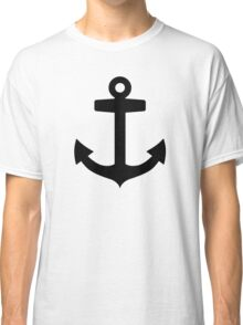 Black anchor Classic T-Shirt