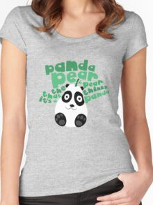 Pandapear Women's Fitted Scoop T-Shirt