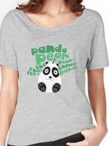 Pandapear Women's Relaxed Fit T-Shirt
