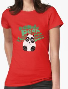 Pandapear Womens Fitted T-Shirt