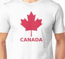 Canada flag maple leaf Unisex T-Shirt