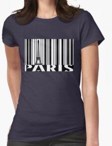 Paris, T-Shirt Design Womens Fitted T-Shirt